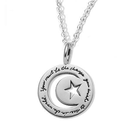 bb becker inspirational jewelry gandhi s world pendant