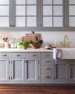 Slate Grey Kitchen Cabinets by Why You Should Incorporate Brass Into Your Kitchen Asap