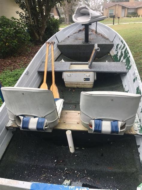 12ft jon boat with trailer 12ft v hull jon boat with 50lb thrust trolling motor and