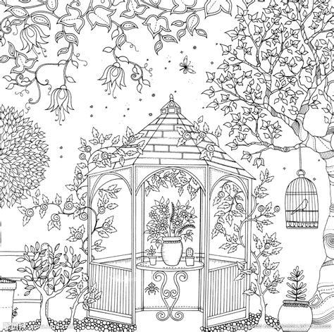 secret garden colouring book buzzfeed 秘密花园设计图 绘画书法 文化艺术 设计图库 昵图网nipic