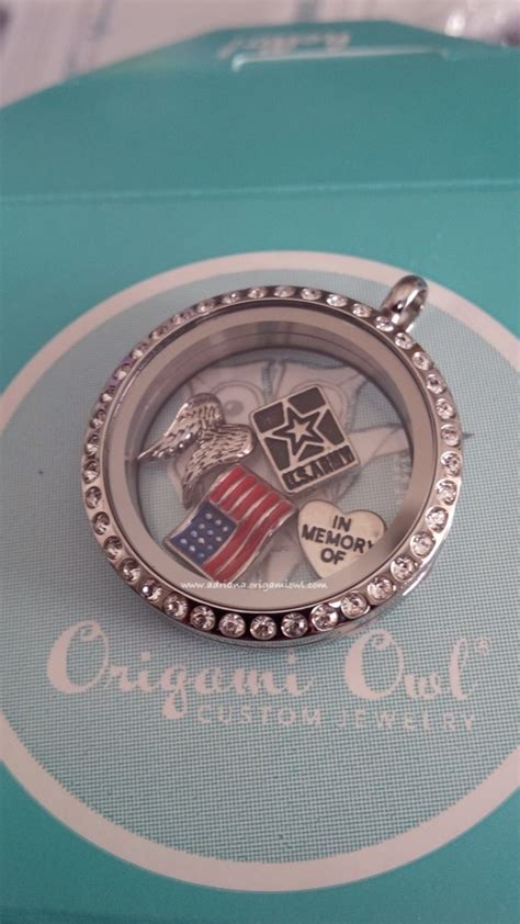 Army Origami - army memorial origami owl 174 living lockets www