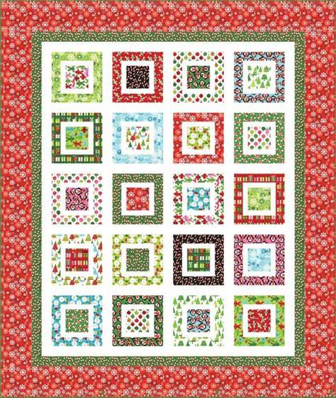 quilt pattern on pinterest kaufman jingle bell rock quilt pattern quilting pinterest