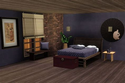 japanese inspired bedroom 17 best images about the sims on pinterest japanese