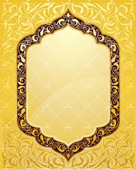islamic art pattern templates elegant islamic art template on behance