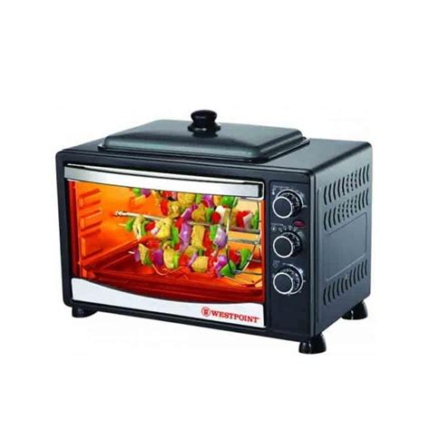 Toaster Oven With Plate westpoint wf 3800rkd toaster oven with plate 42 litre in pakistan hitshop