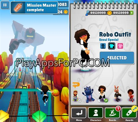 subway surfers unlimited coins and apk free subway surfers seoul 1 34 0 apk mod unlimited coins and play apps for pc