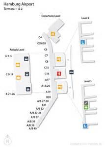airport terminal map ham hamburg airport terminal map
