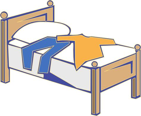 bed clipart bed clip art