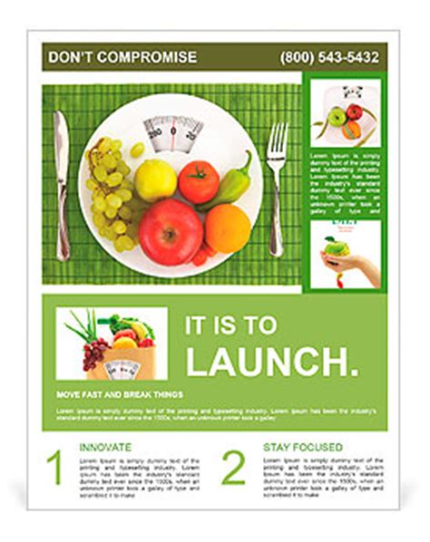 flyer template nutrition diet and nutrition flyer template design id 0000010106