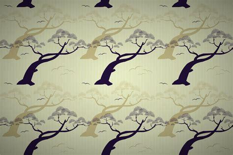 japanese pine tree stripe wallpaper patterns