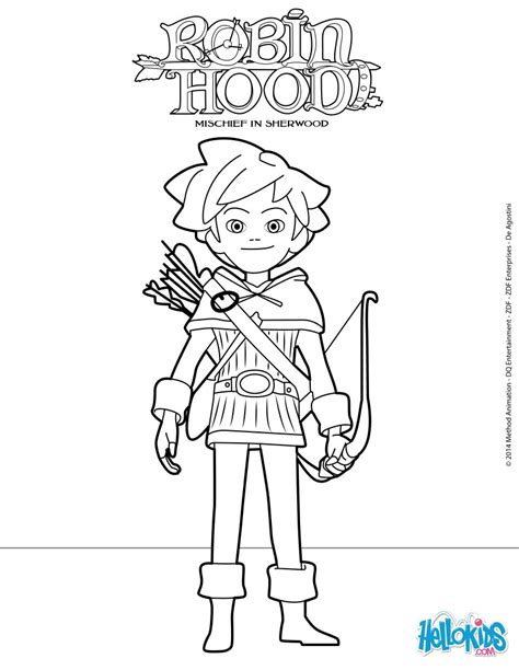 Robin Hood Mischief In Sherwood Coloring Pages The Tank Coloring Pages