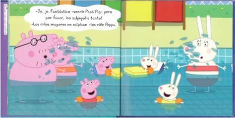 peppa va a nadar 0606401725 peppa pig va a la piscina