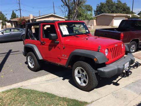 orange jeep wrangler unlimited for sale 2009 jeep wrangler unlimited for sale in orange county