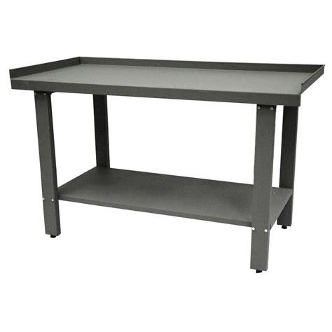 industrial metal work bench homak industrial 59 in steel workbench gw00550150 the