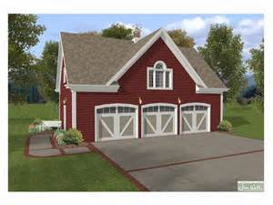 The Garage Plan Shop by Carriage House Plans Carriage House Plan With 3 Car