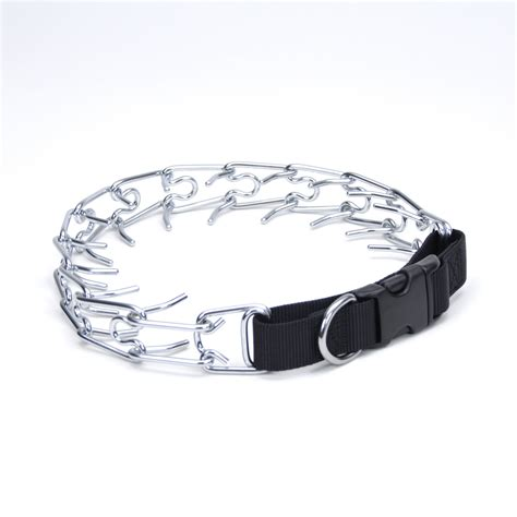 prong collar titan easy on prong collar with buckle