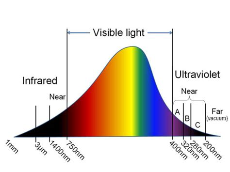 Ultraviolet Light Wavelength by Image Uv Light Wavelength Spectrum