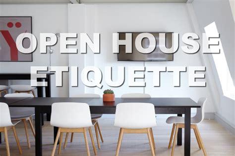 real estate open house etiquette open house etiquette video okie home girl