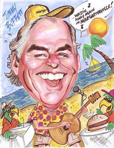 margaritaville cartoon jimmy buffett caricature art margaritaville florida keys