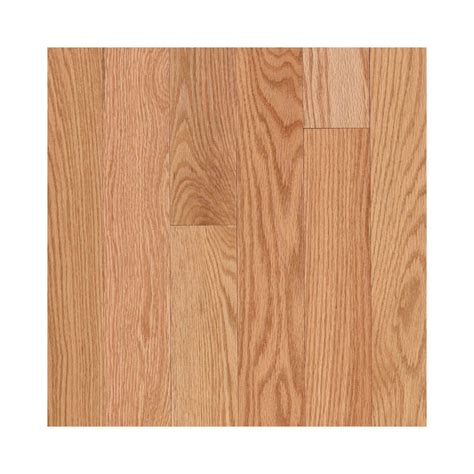 Prefinished Oak Hardwood Flooring Shop Allen Roth 2 25 In W Prefinished Oak Hardwood Flooring Oak At Lowes