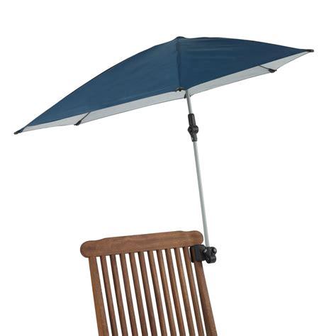 The Clamp On Sun Umbrella   Hammacher Schlemmer