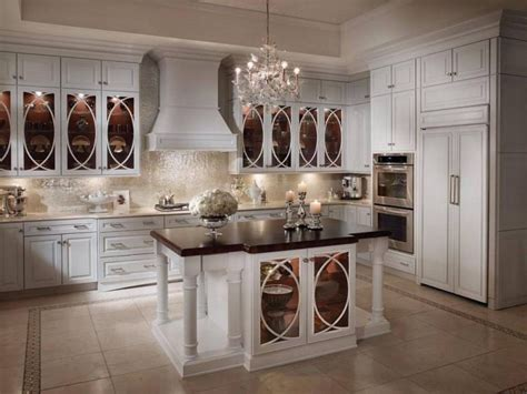 White kitchen backsplash ideas beige ceramic tile backsplash incredible oval wooden dining table