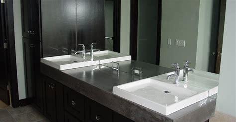 concrete bathroom vanity bathroom vanity concrete designs for bathroom vanities