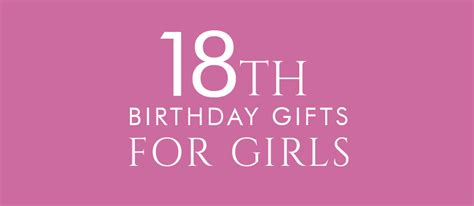 Birthday Gift Card Ideas For Her - 18th birthday gifts present ideas