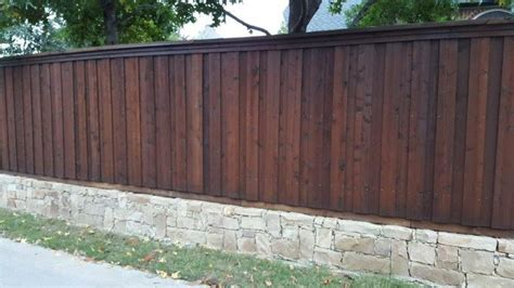 dark walnut ready seal staining wood fence fence stain