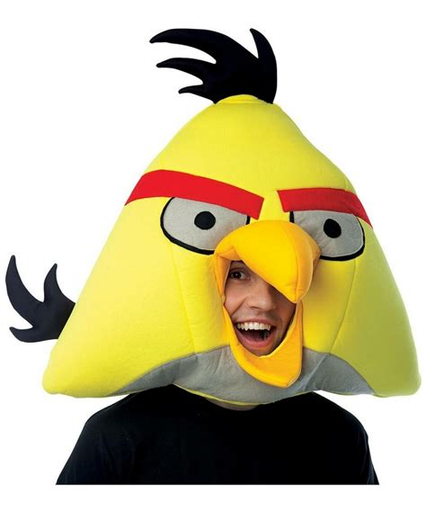 The Angry Birds Petualangan Keren Rovio yellow rovio angry birds mask costume mask