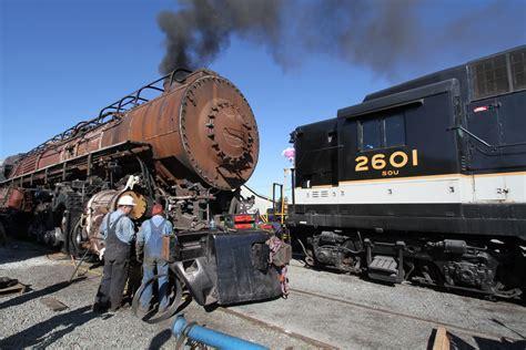 VIDEO: Norfolk & Western 611 steam test: All systems go