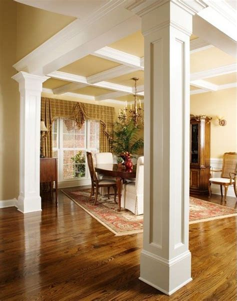 dining room columns columns home ideas pinterest