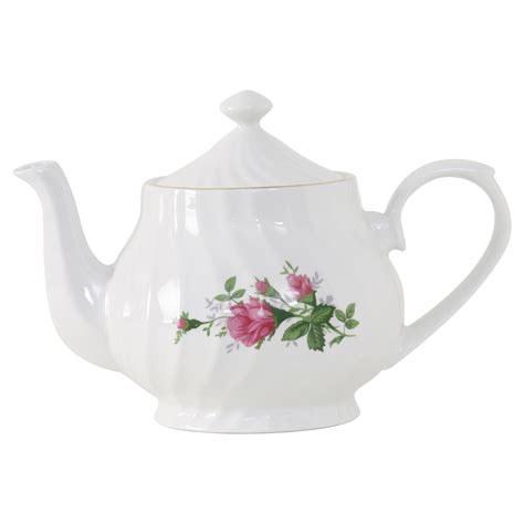 porzellan teekanne vintage porcelain teapot 37oz
