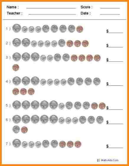 Grade 4 Money Worksheets by 4 Money Worksheets 3rd Grade Media Resumed