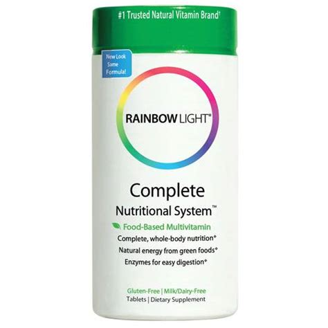 rainbow light complete nutritional system 180 tablets rainbow light complete nutritional system 180 tablets