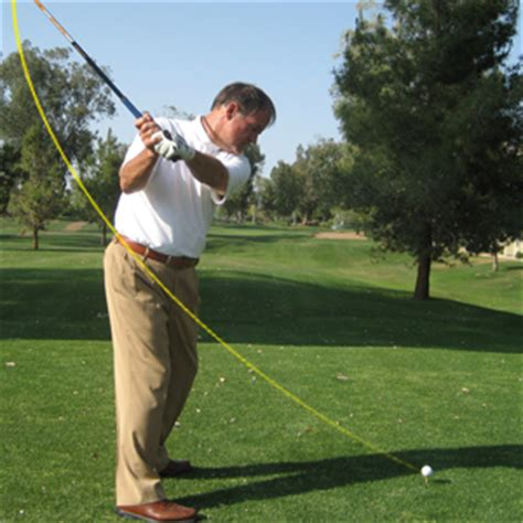 Golf Swing Is Around Your Body