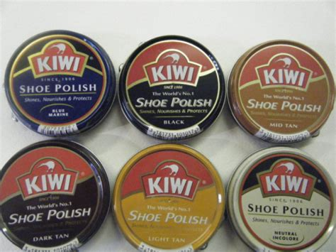 light brown shoe polish kiwi shoe polish black blue neutral burgundy brown