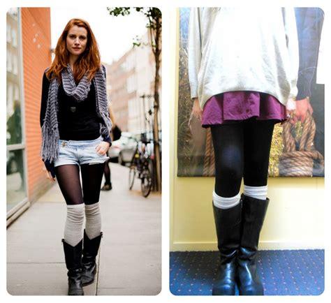 4 ways to wear high knee socks style me oddley