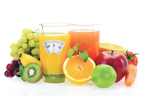 alimento salubre como es la dieta de los jugos