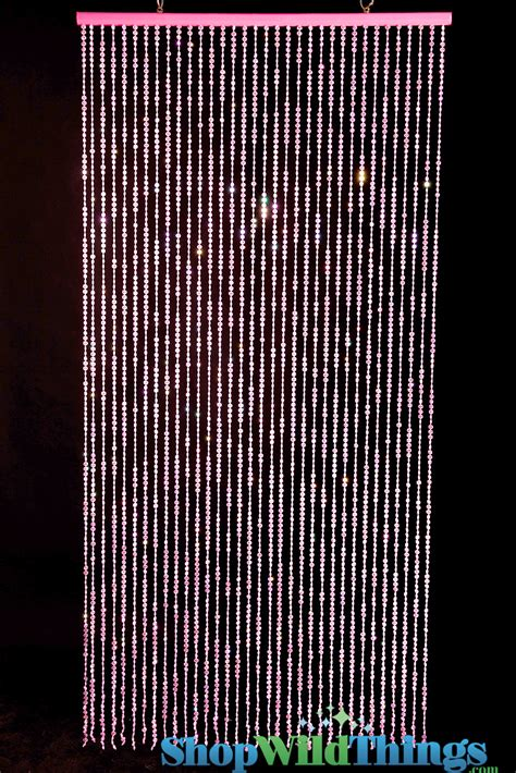 bead door curtain beaded curtains pink pink diamonds curtain pink
