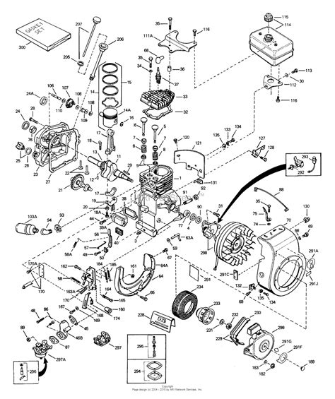35 parts diagram tecumseh h35 45503n parts diagram for engine parts list 1