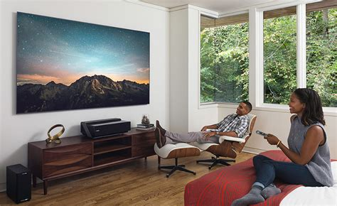 hisense 100 4k ultra hd laser tv hisense s 100 quot 4k tv is actually a laser projector home