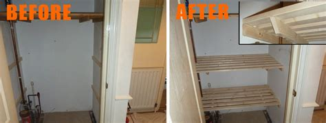 How To Make Airing Cupboard Shelves Airing Cupboard Custom Shelving In Hshire And Surrey
