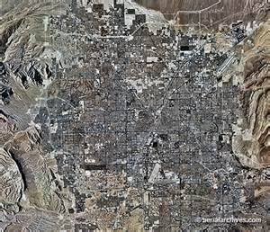aerial photo maps and satellite imagery of las vegas nevada