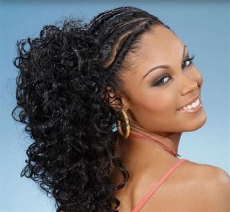 black ponytail hairstyles with twists 12 best ponytail hairstyles for black women with black hair