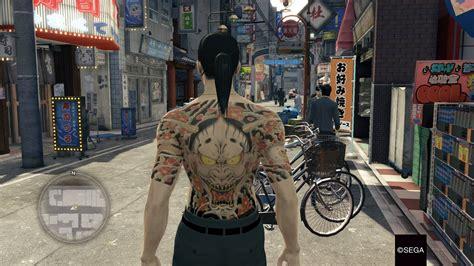 yakuza majima tattoo yakuza 0 free dlc1 out now yakuza fan