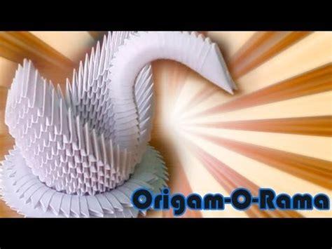 tutorial de cisne en origami 3d cisne de 400 piezas origami3d youtube