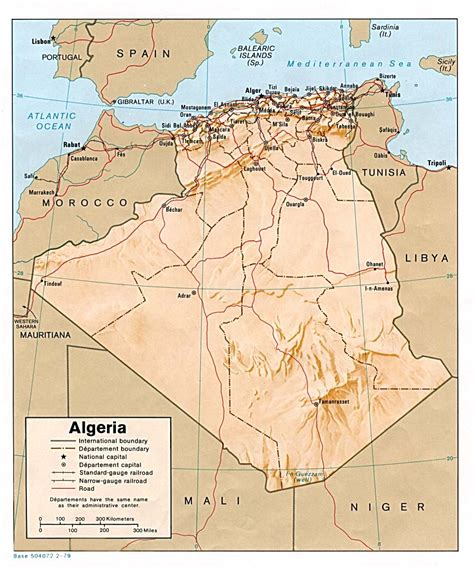 africa map algeria nationmaster maps of algeria 11 in total
