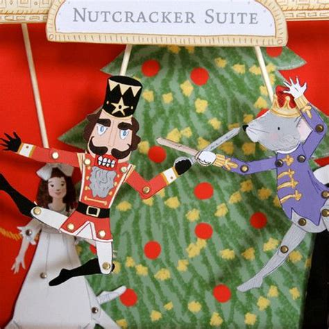 printable nutcracker ornaments printable nutcracker paper dolls and theater magic