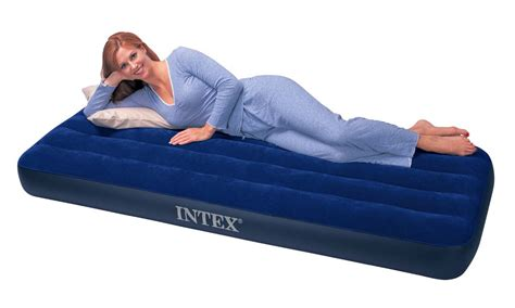 intex single size classic downy airbed only airbeds co uk